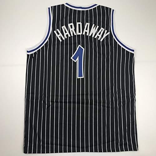 Unsigned Penny Anfernee Hardaway Orlando Black Custom Stitched Basketball Jersey Size Men