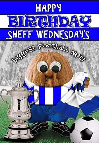 Birthday Card – Sheffield Wednesday - Football Sports Nut