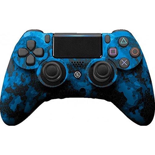 PS4 PC Controller Scuf IMPATTO Digital Camo Blu