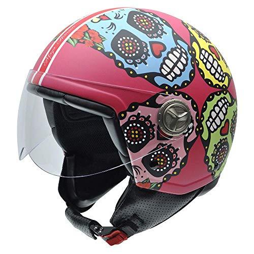 Casco de moto maya