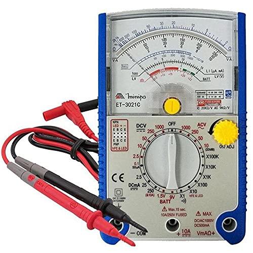 Multímetro analógico portátil - ET-3021C - Minipa