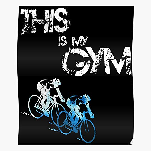 Bike Fit Fitness Biking Cycling Bicycle Gym Gymnastic Home Decor Wall Art Print Poster !