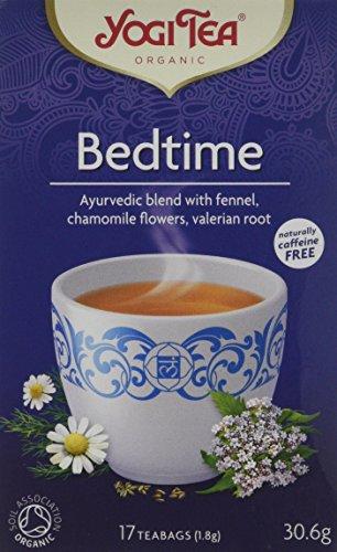 YOGI TEAS - AYURVEDIC Organic Ancient Herbal Bedtime Tea 17bags (PACK OF 6)