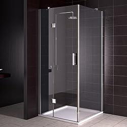 duschkabine duschabtrennung 90x90 cm. Black Bedroom Furniture Sets. Home Design Ideas