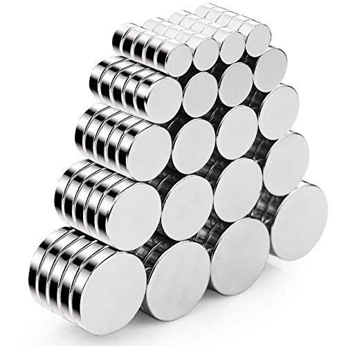 100 pcs Magneti forti neodimio potente,Magneti Rotondi,Magneti per Frigorifero,Calamite per Lavagne,Magneti Piccoli,Magnete Estremamente Forte,Magneti al neodimio,Super forti magnetica