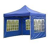 ANAC Tela de tienda portátil impermeable Oxford toldo cubierta superior al aire libre impermeable jardín Gazebo reemplazo paño para camping