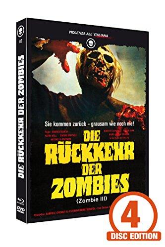 Die Rückkehr der Zombies (Zombie 3) 4-Disc Mediabook 2-Blu-ray/DVD/CD