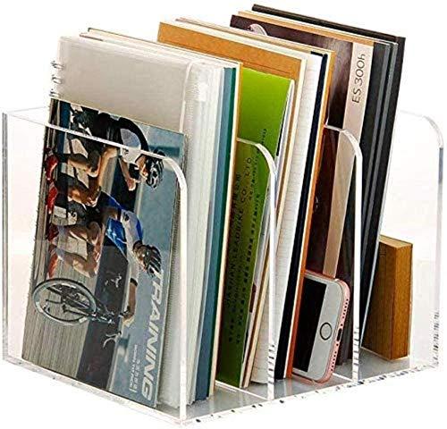 Sistemas de Archivo archivadores Soporte para Archivos de Escritorio Estante para revistas Almacenamiento de Archivos Estante para Archivos 4 Colores Opcionales Muebles de Oficina en casa suminis