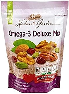 Nature's Garden Omega-3 Deluxe Nut Mix, 26 ounce (Pack of 3)