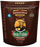 2LB Don Pablo European Blend - Dark Roast - Whole Bean Coffee - Low Acidity - 2 Pound (2 lb) Bag