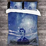 Once Upon A Time Peter Pan Merchandise 100% Washed Microfiber 3 Piece Bedding Sets,Simple Home Textile Bedroom Decoration 86' X70