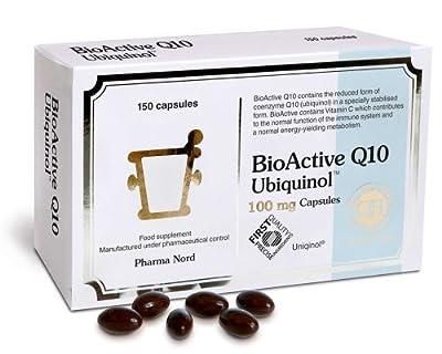 Pharma Nord Bio-Active Q10 Ubiquinol (Active QH) 100mg-150caps by Pharma Nord