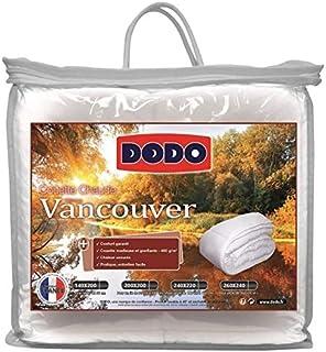 DODO Couette chaude 400g VANCOUVER 220x240cm