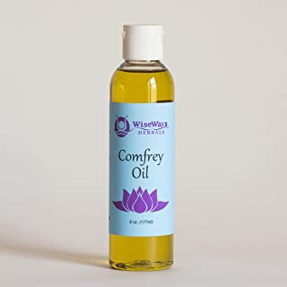 WiseWays Herbals Comfrey Oil, 6 Ounces Natural Skin Care Oil