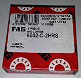 5 pcs! FAG 6002-C-2HRS las ranuras de los rodamientos de bolas