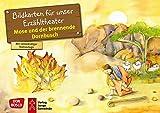 Mose und der brennende Dornbusch. Kamishibai Bildkartenset.: Entdecken - Erzählen - Begreifen: Kinderbibelgeschichten. (Bibelgeschichten für unser Erzähltheater)