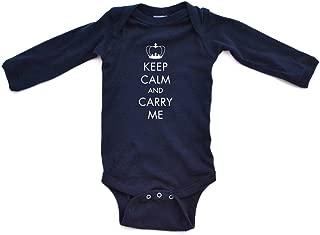 keep calm crown blue