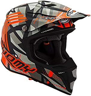 Suomy MX Speed Sergant Matte Orange Grey Helmet size X-Large