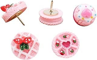 Creative Cute Mini Cake Dessert Ice Cream Shaped Pushpins Drawing Pins 15PCS (Mini Cake)
