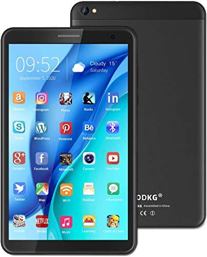 Tablet 8 Pulgadas - Google Android 10.0 Certificado por Google GMS, Quad Core 3 GB RAM 32GB ROM 128GB, 800 * 1280 IPS 5000mAh, WiFi, Bluetooth - Negro