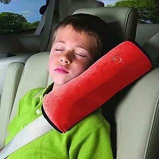 Acolchado Cintur/ón de Seguridad acolchado Ni/ños Baby protectora reposacabezas Auto rosa Rosa