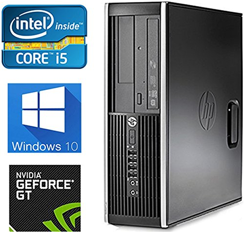 HP 8300 4K Gaming Computer Intel Quad Core i5 upto 3.6GHz, 8GB, 1TB HD, Nvidia GT730 4GB, Windows 10 Pro, WiFi, USB 3.0 (Renewed)