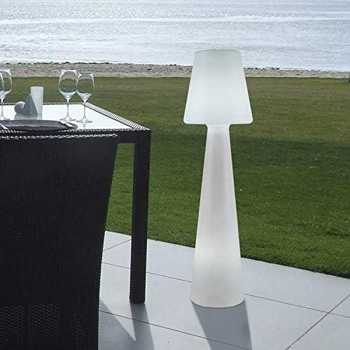 LOLA - Lampadaire d'extérieur H 110cm Blanc New Garden