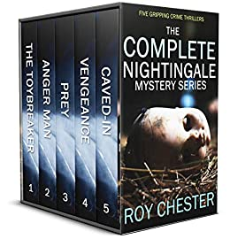 Book's Cover of THE COMPLETE NIGHTINGALE MYSTERIES five gripping crime thrillers (English Edition) Versión Kindle
