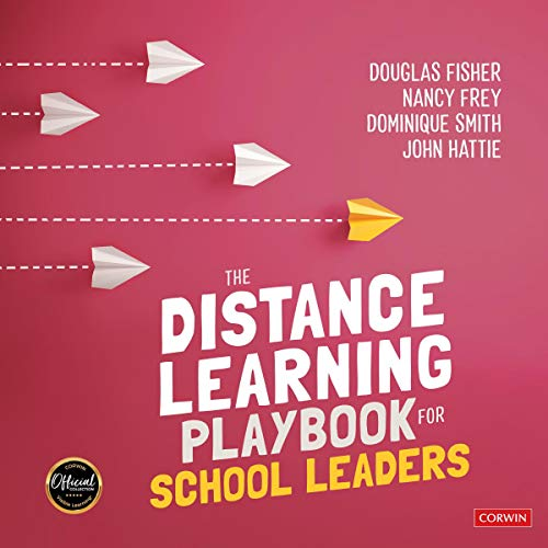 The Distance Learning Playbook for School Leaders cover art