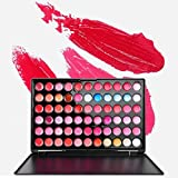 FantasyDay Pro Matte 66 Colors Cream Non-Sticky Lip Gloss Makeup Palette Lipgloss Cosmetic Set Lip Contouring Kit