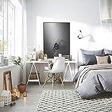 QWESFX Carácter Abstracto Jaula Chica Pintura Pinturas de Gatos en Lienzo Pinturas Set Lienzo estirado para Pinturas para dormitorios (Imprimir sin Marco) A5 60x120CM