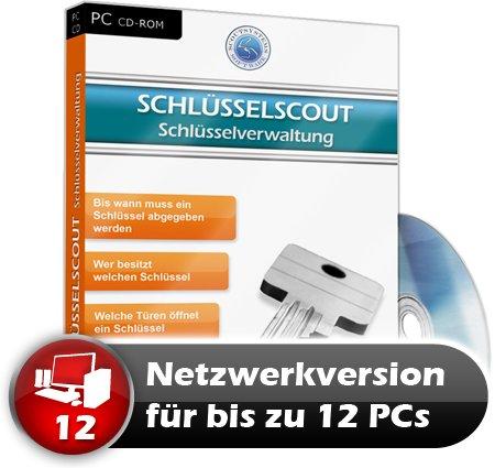 Faktura Manager Schlüsselverwaltung Rechnungsprogramm Netzwerk Software 12 PC
