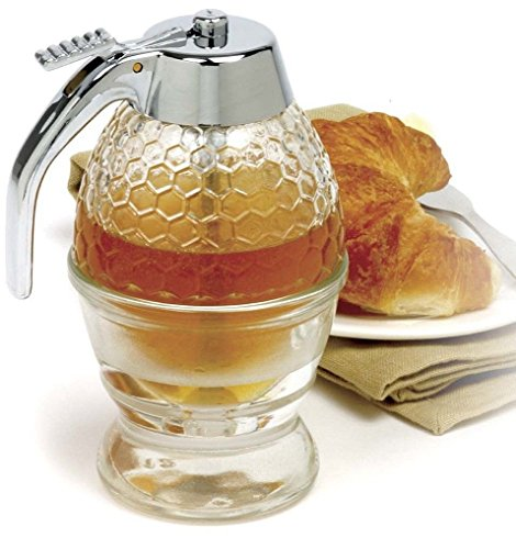 Norpro Norpro Glass Honey and Syrup Dispenser Kitchen Hand Tools and Gadgets