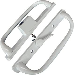 PATIO DOOR HANDLE SET WHITE REPLACEMENT PD3000WHITE