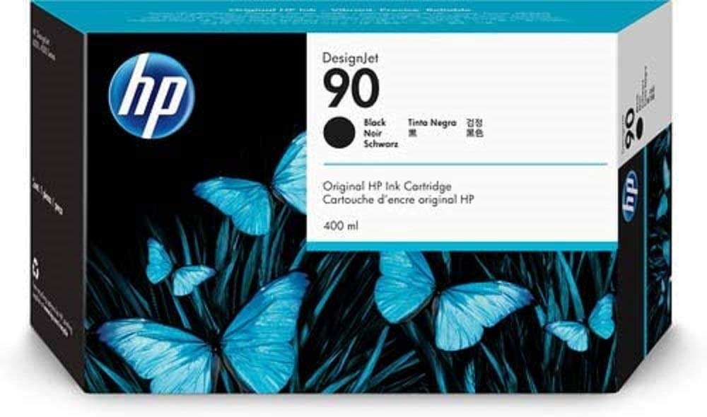 HP C5058A - Cartucho de tinta, no. 90, negro: Amazon.es: Oficina y ...