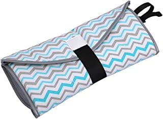 Cambiador de pañales portátil para bebé, impermeable,