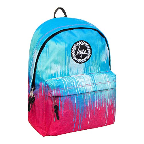 Hype Double Drips Pom Pom Backpack, one size
