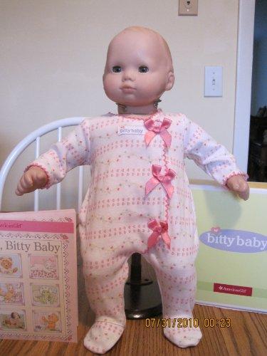 American Girl Bitty Baby Pink Bow Sleeper - Saco de dormir