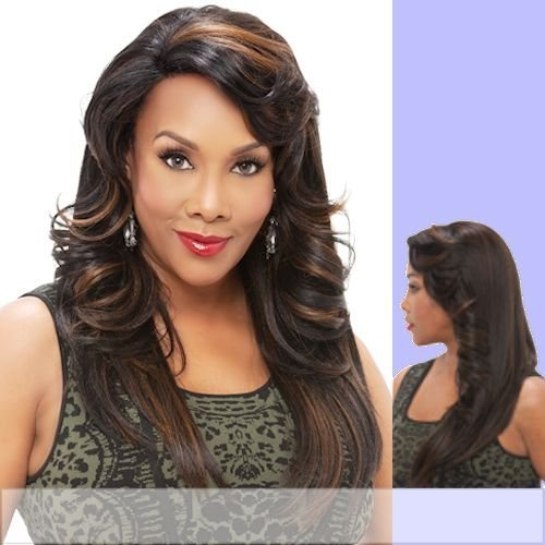 JENNIFER (Vivica A. Fox) - Heat Resistant Fiber Lace Front Wig in 4 by Vivica A. Fox
