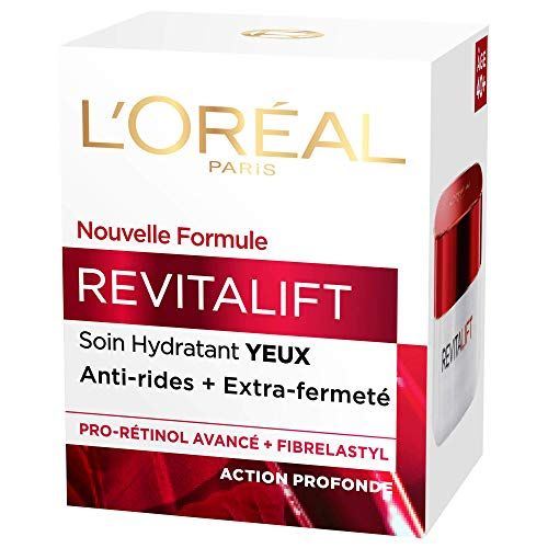 L'Oréal Paris Soin hydratant yeux anti-rides + extra fermeté - Le pot de 15ml