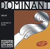 Thomastik Corde per Cello Dominant nucleo di nylon Set 4/4 forte rivestimento cromo...
