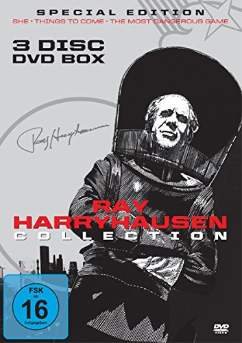 Ray Harryhausen Limited Collection (3 Filme DVD Box ) [Special Edition]