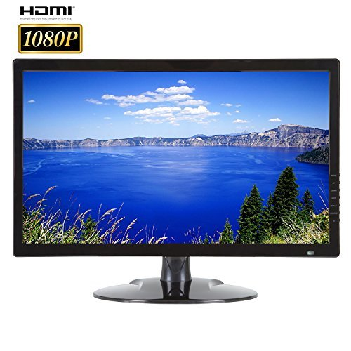 Buy 101AV 21.5 Inch Analog HD Security LED Monitor work with HD-TVI,AHD,CVI/CVBS 1xHDMI & 2xBNC Vide...