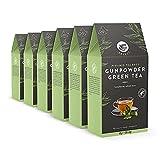 Marca Amazon - Happy Belly Select - Bolsitas de té verde selecto, Gunpowder, 6x20 pirámides