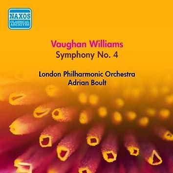 Vaughan Williams, R.: Symphony No. 4 (Boult) (1953)