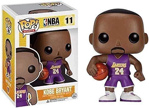¡Música Pop! Carácter de la NBA: Lakers # 11 Kobe Bryant # 24 Collectible