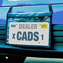 Donkey Auto Products Premium Fastening Tag Bag - Demo License Plate Holder - Professional Quality