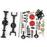 VGEBY1 Kit de Mise à Niveau de Modification de Voiture RC, Kit de pièces de Mise à Niveau en métal pour Accessoires Voiture WPL 1/16 B14 B24 B26 C14 C24 RC