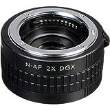Kenko Teleplus HD DGX, Moltiplicatore Focale 2 x, per Nikon AF, Nero