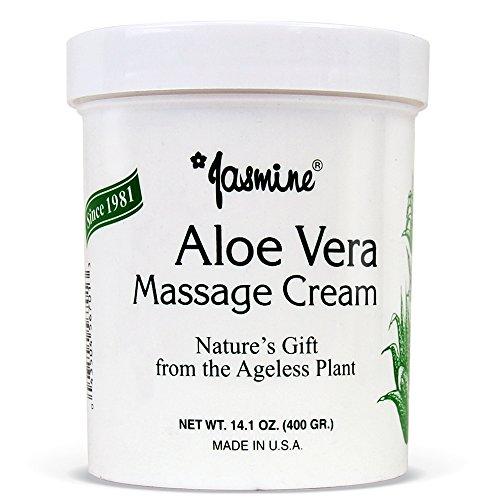 Jasmine Aloe Vera Massage Cream. Keep Your Face and Body